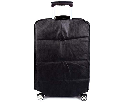 Travel Luggage Cover Plain Color Suitcase Cover,3 Colors,Fits 28 Inch,Black by CXGIAE (Image #7)