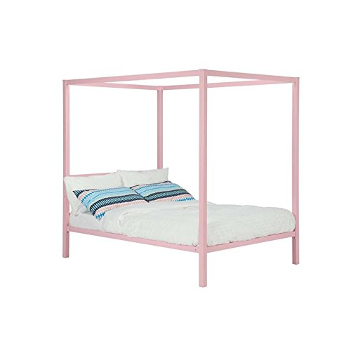 DHP Modern Metal Canopy Pink