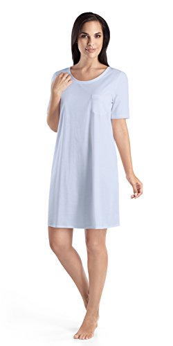 Hanro Mercerized Cotton Gown - 1