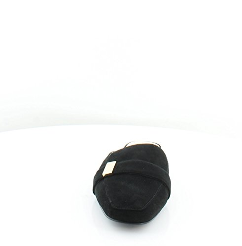 Leather Aidaa Mules Womens Black Alfani Toe Square fax8E5q