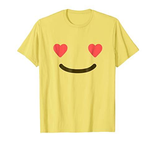 (Smiling Face With Heart Eyes Shirt - Emoji Halloween)