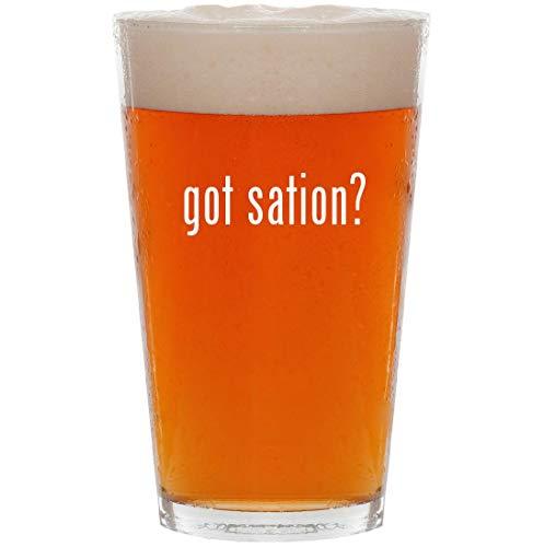 got sation? - 16oz All Purpose Pint Beer Glass (Gta V Play Sation 4)