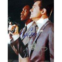Signed I Spy (Robert Culp/Bill Cosby) 11x14 Photo By Robert Culp and Bill Cosby (Bill Cosby Robert Culp Photo)