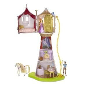 Toy / Game Disney Tangled Featuring Rapunzel Magical Tower Playset With Full Of Secrets And Surprises
