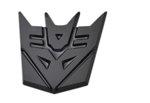 black decepticon car emblem - 4