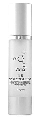 Vernal NE taches correction Cream - Éprouvé en clinique - réduire visiblement et les taches sombres, Fade taches et traces du passé cicatrices d'acné âge.