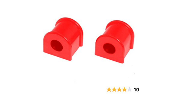 Prothane 4-1126 Red 22 mm Rear Sway Bar Bushing Kit