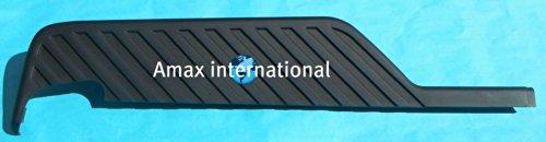 REAR STEP BUMPER TOP Pad OR TOP Cover OR Step Pad Fits 2004 2005 2006 2007 2008 2009 2010 2011 2012 2013 2014 Nissan Titan PICKUP 04 05 06 07 08 09 10 11 12 13 14 _ RH = Passenger Side _ NI1197100 _ Matte Black (TEXTURED)