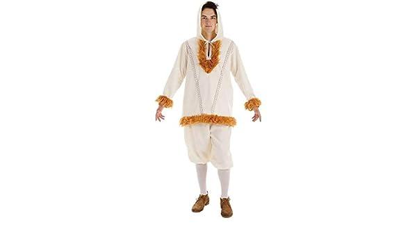 Creaciones Llopis Disfraz de Esquimal NUI para Hombre: Amazon.es ...