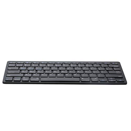 Geetobby Wireless Keyboard for Windows/iMac/iPad/Android/Phone/Tablet Recharging Keyboard Wireless - Black, White