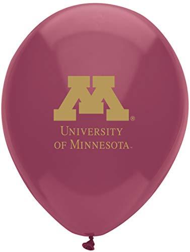 Pioneer Balloon Company 10 Count University of Minnesota Latex Balloon, 11