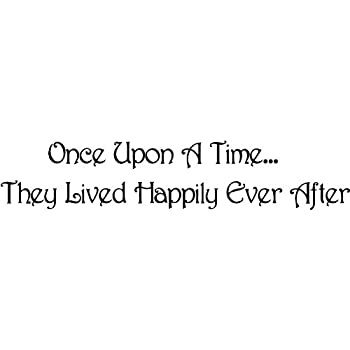 Amazoncom Once Upon A Timethey Lived Happily Ever After