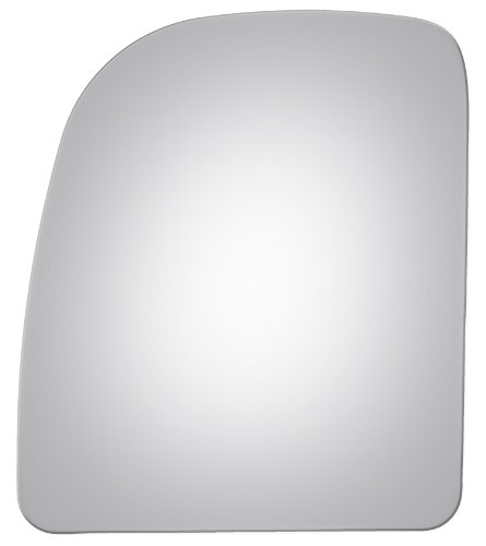Wagon Driver Mirror Glass (2002-2013 Ford Van Left Driver Mirror Glass Lens Upper)