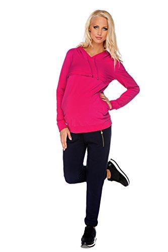 My Tummy Maternité sweat-shirt maternite Angie rose