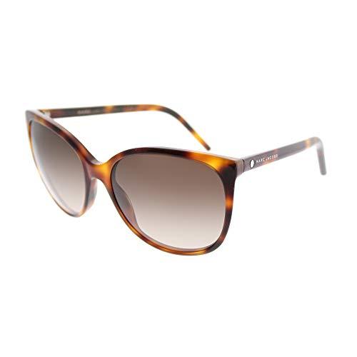 Marc Jacobs Women's Marc79s Square Sunglasses, HAVANA/BROWN GRADIENT, 56 ()