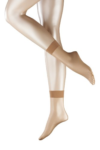 FALKE Damen Socken Shelina 12 den SO, Gr. 35/38, Beige (powder)