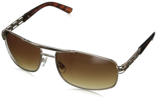 Rocawear R1370 Rectangular Sunglasses,Gold,65 - Sunglasses Mens Rocawear