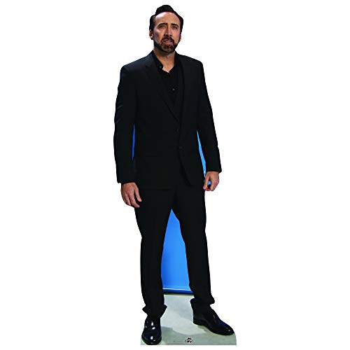 CS757 Nicolas Cage Cardboard Cutout - Cage Cardboard Nicolas
