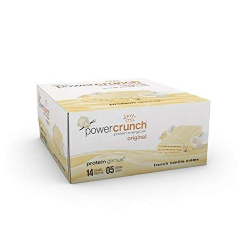 Power Crunch - Power Crunch Bar - French Vanilla Cream -12 count (3 Packs)