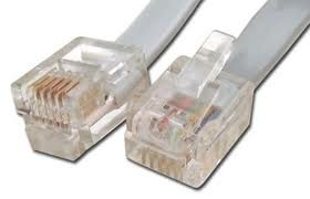 Telephone Cable Straight Rj12 200ft by Cables4sure