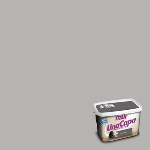 Titan 69638305 - Pintura plá stica mate GRIS MEDIO Titan UNA CAPA