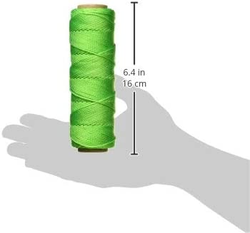 545-Foot Yellow Keson YT545 18 Gauge Twisted Nylon Mason Twine