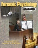 Forensic Psychology 3th (third) edition