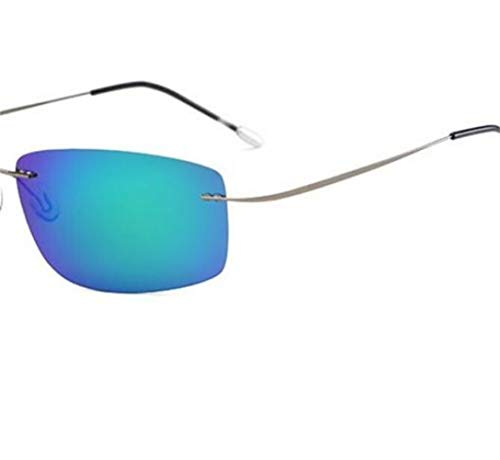 de cadre de lunettes Pour soleil sans protection Bleu la pour conduite de soleil hommes lunettes Lunettes pour UV400 de unisexe Lunettes voyager mode des polarisées n6pfvpxWt