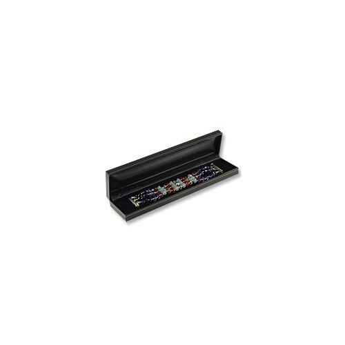 Cartier Style Bracelet Box Black Leatherette