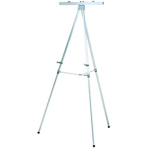 "Quartet Heavy Duty Flipchart or Display Easel, 66"" Max. Heig"