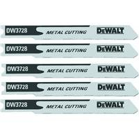 Black & Decker/DWLT DW3728-5 Metal Cutting Cobalt Jigsaw Blade