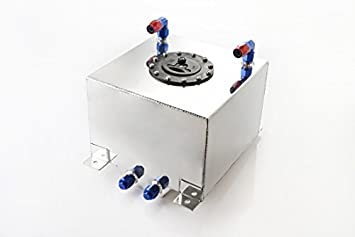 Liter aluminium benzintank mit füllstandsensor amazon auto