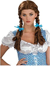 Easy Wizard Of Oz Costumes (Wizard Of Oz Dorothy Wig, Brown, One Size)