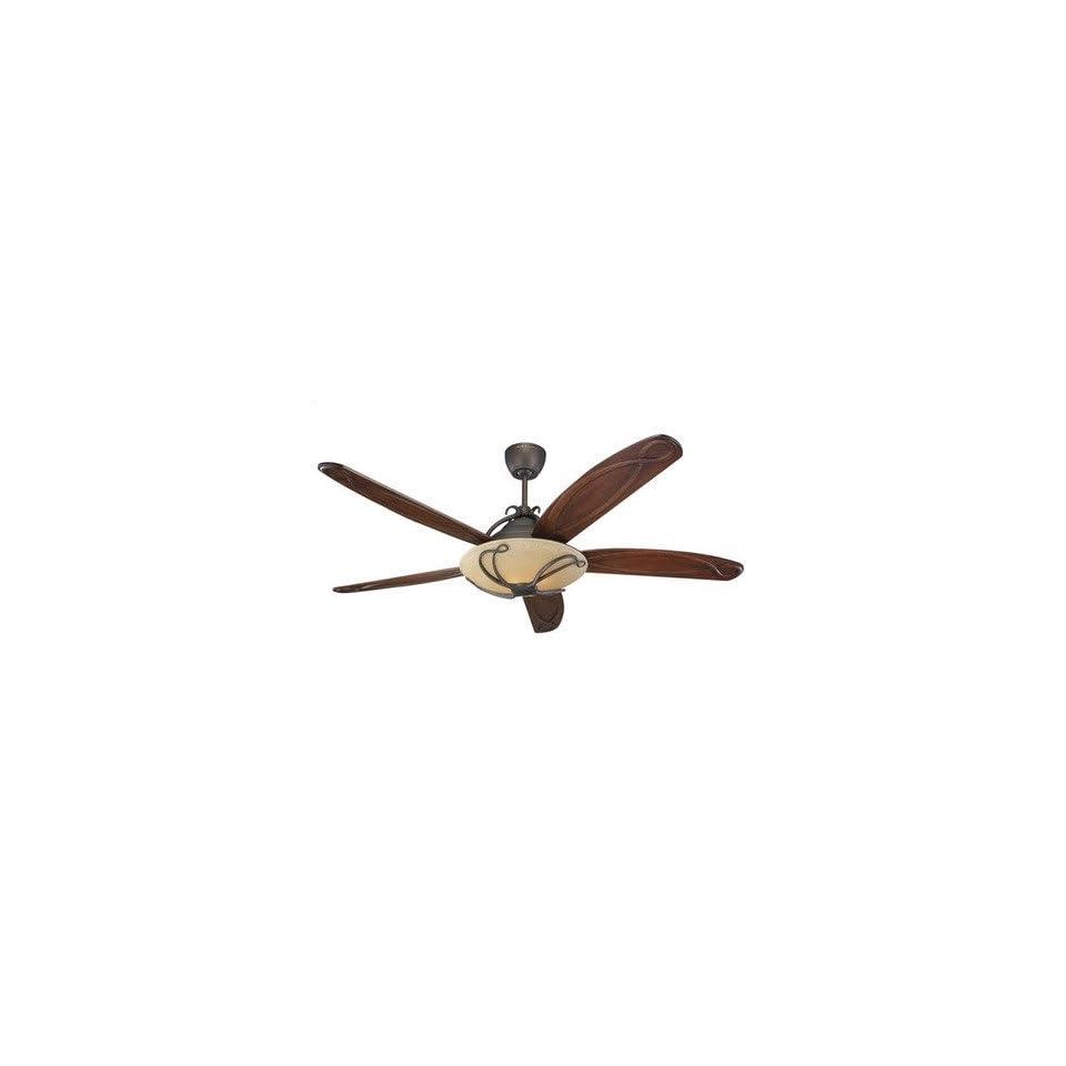 Monte Carlo Fan Company 5CLR66RBD 66 Chloe Ceiling Fan in Roman