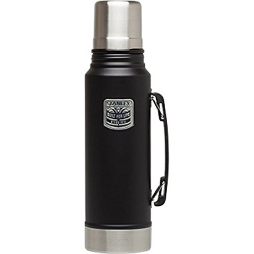Outdoor 1.1 Quart Bottle (Stanley 1.1 Quart Vacuum Bottle - Special Edition - Matte, Black)
