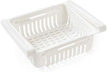 Reuvv - Cajones de Almacenamiento para frigorífico y Verduras, con Compartimentos universales adicionales