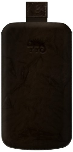 KATINKAS 2108047028 Special Effect Leather Case for Sony Ericsson Xperia Ray - 1 Pack - Retail Packaging - Brown (Ericsson Xperia Case Ray Sony)