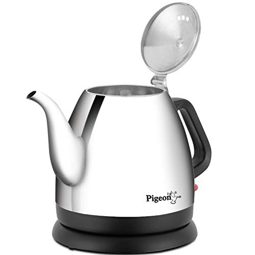Pigeon by Stovekraft Swell Electric Kettle with Stainless Steel Body, 0.7 Litre Boiler for Water, Instant Noodles, Soup etc 2