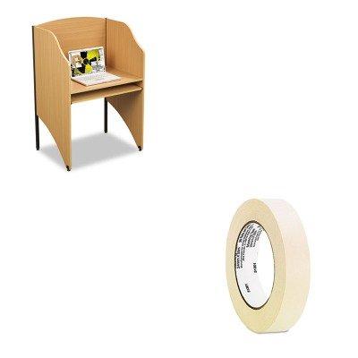 KITBLT89868UNV51301 - Value Kit - Balt Floor Carrel (BLT89868) and Universal General Purpose Masking Tape (UNV51301) (Balt Floor Carrel)