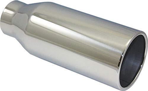 Pirate Mfg Stainless Steel Rolled Edge Exhaust Tip 2.5