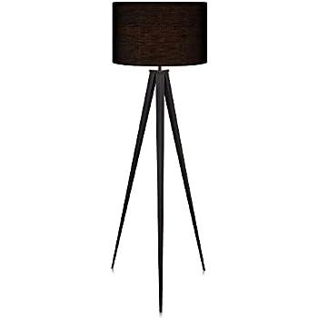 Amazon versanora romanza tripod floor lamp in black office versanora romanza tripod floor lamp in black aloadofball Choice Image