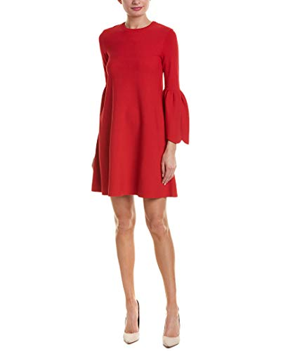 Valentino Womens 3/4-Sleeve Shift Dress, M, Red for sale  Delivered anywhere in USA