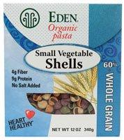 Eden Foods Organic Pasta Small Vegetable Shells -- 12 oz