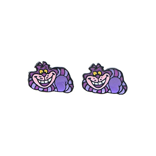 Alice In Wonderland Cheshire Cat Premium Quality Stud Earrings for $<!--$11.97-->