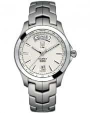 TAG Heuer Link Silver Dial Steel Bracelet