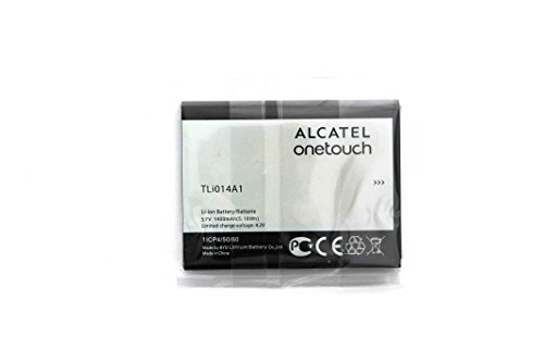 Alcatel Battery (Alcatel One Touch Evolve 5020 5020T OT5020 OT-5020 Battery TLi014A1 1400mAh 3.7v)