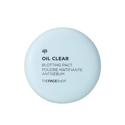 Clear Blotting Powder ([The Face Shop] Oil Clear Blotting Face Pact Powder)