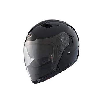 SHIRO 001124-0002-XL//449 Casco Modular SH-414 Boss Color Negro Talla XL SHIRO 001124-0002-XL//449