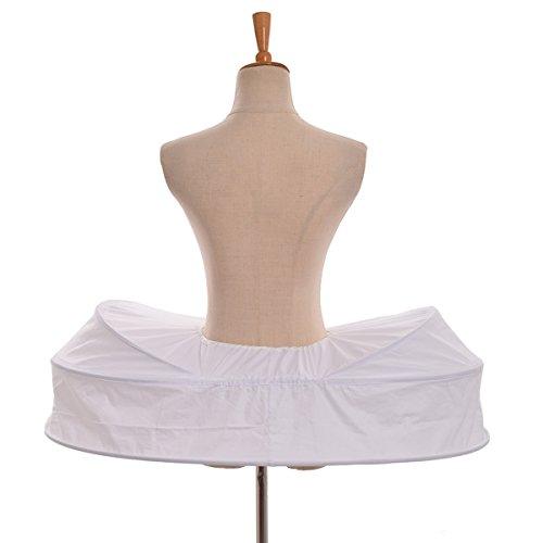 Style Reinfen Treiben GRACEART Krinoline Petticoat Rock 12 Band Rock Pannier Unterrock Käfig Kleid qr6PgwqaF