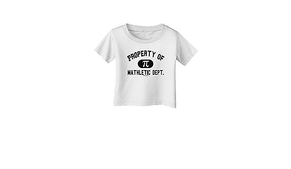 TooLoud Mathletic Department Infant T-Shirt